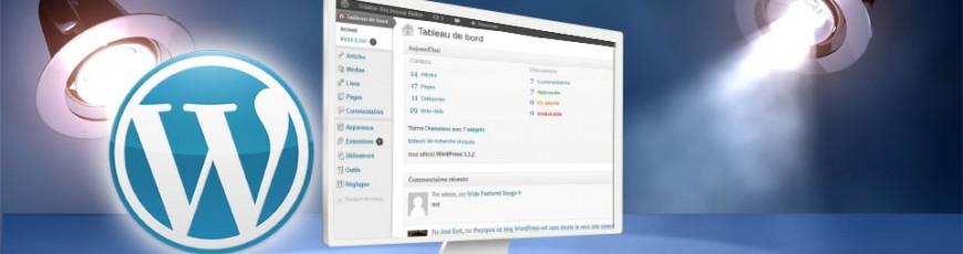 Création site en WordPress