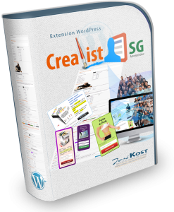 crealist-sg extension wordpress pour sg-autorepondeur