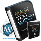 Mise à jour du plugin WordPress Magic Text Widget