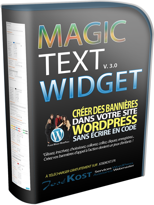 plugin wordpress magic text widget