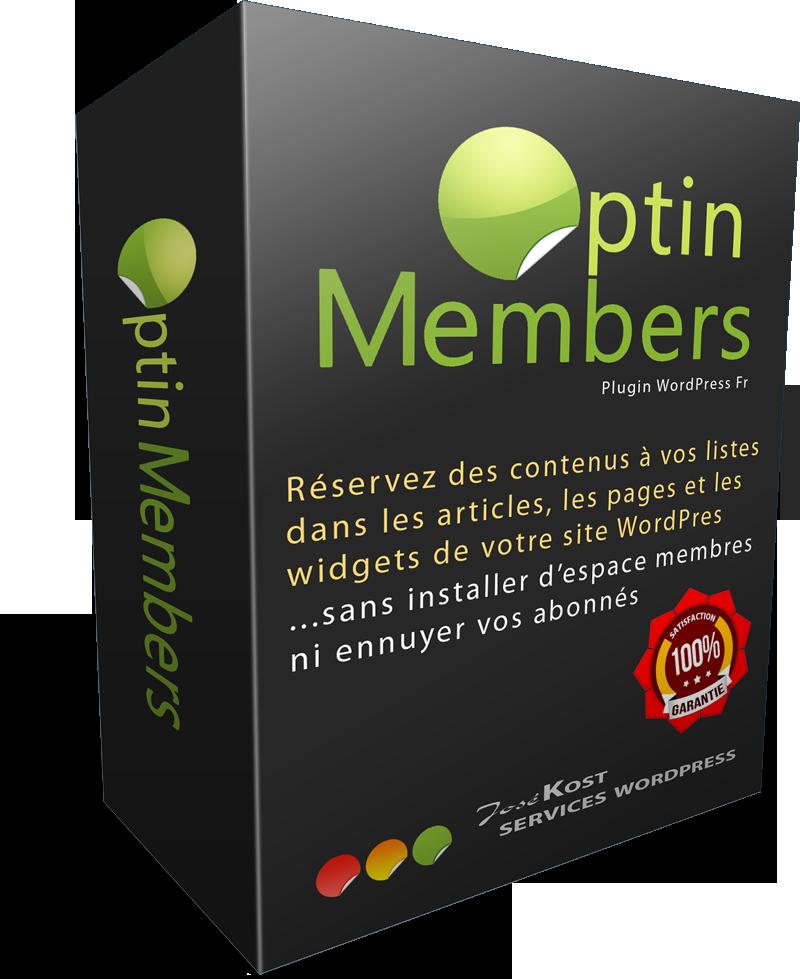 plugin wordpress optin members